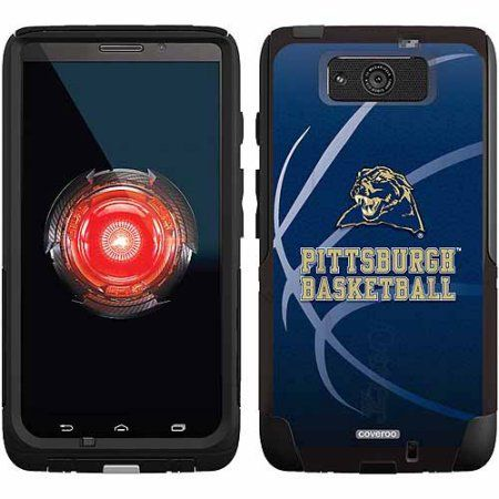 University of Pittsburgh Basketball Design on OtterBox Commuter Series Case for Motorola Droid Maxx