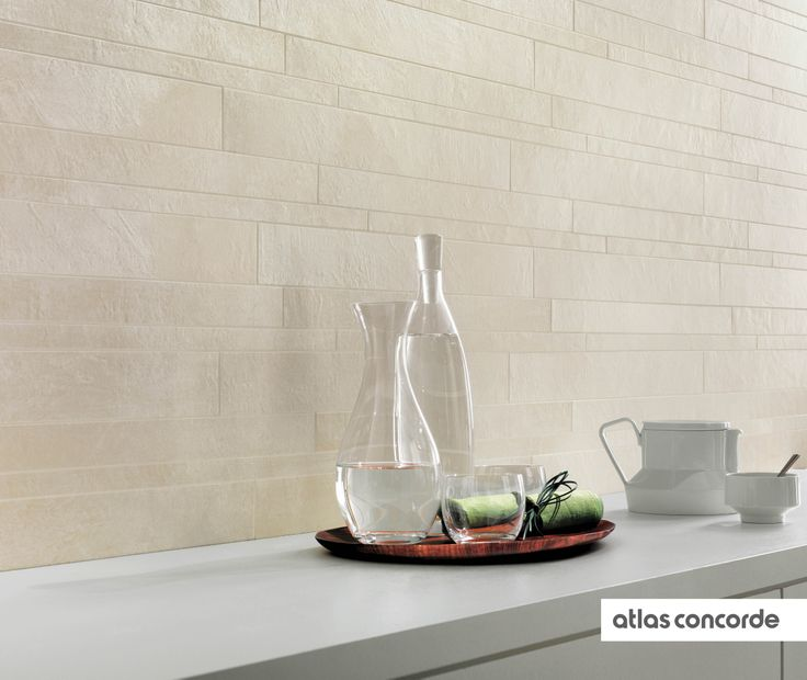 #EVOLVE #white | #Brick | #AtlasConcorde | #Tiles | #Ceramic | #PorcelainTiles