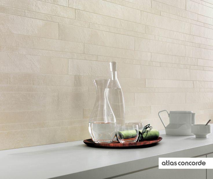 #EVOLVE #white | #Brick | #AtlasConcorde | #Tiles | #Ceramic | #PorcelainTiles