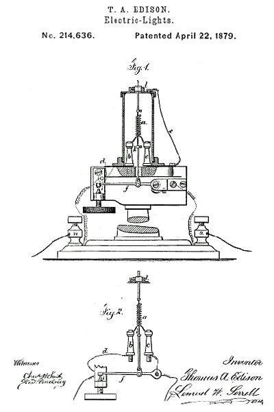 18 best edison patents images on pinterest