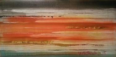"""Saatchi Art Artist Jukka Uusitalo; Painting, """"Bed of Reeds 2015"""" #art"""