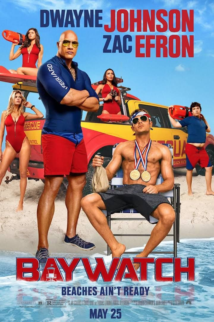 8 best actionpedia dramaromancecomedy images on pinterest dwayne johnson and zac efron in this awesome baywatch movie poster sciox Choice Image