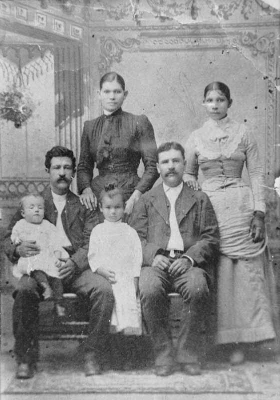 Historical Treasures of San Bernardino Gregorio and Manuela Quintana, 1887