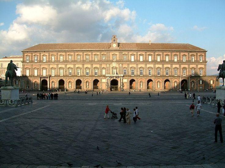 Naples ; Italian: Napoli -Royal Palace
