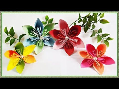 Origami Cherry Blossom - Origami Easy - YouTube | 360x480
