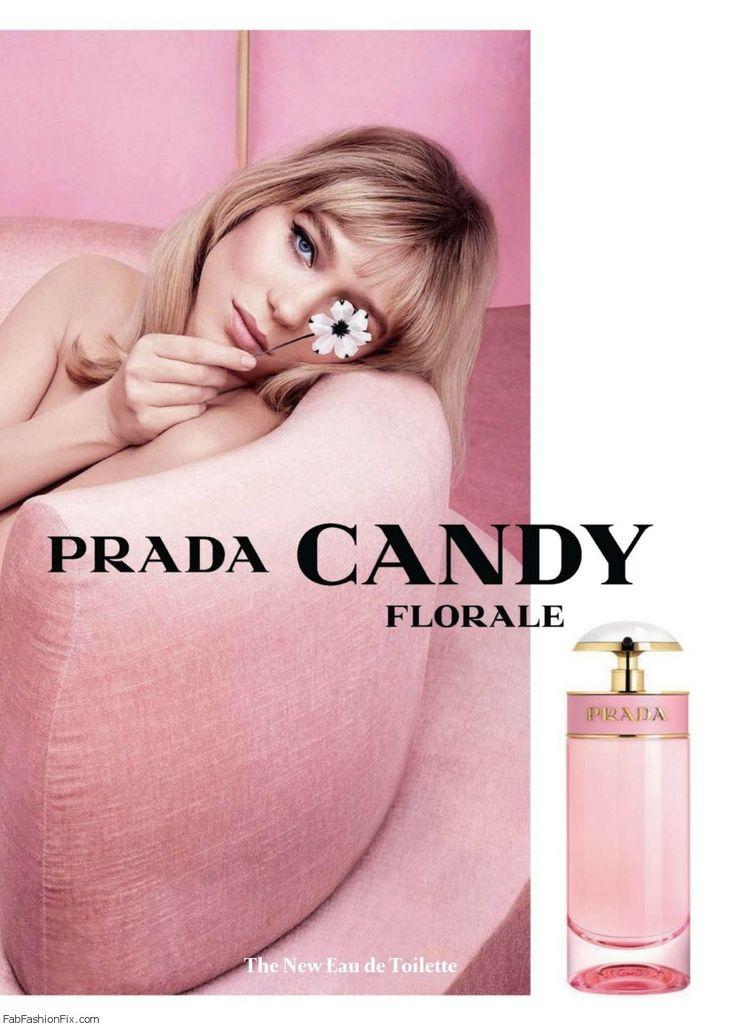 lea seydoux for prada candy florale fragrance. Black Bedroom Furniture Sets. Home Design Ideas