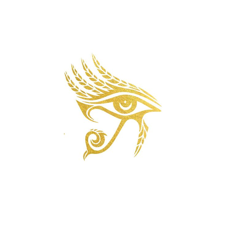 Bedeck yourself in splendor worthy of an Egyptian goddess with this beautiful set of two gold metallic tattoos. 2 PACK