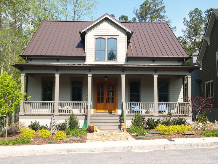 69 best metal roof houses images on pinterest metal roof for Best roof color