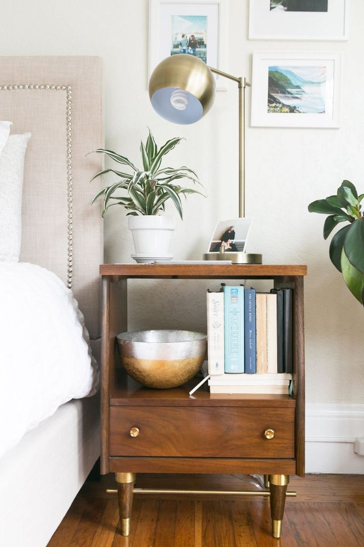How One Couple Made Their 700-Square-Foot Apartment Feel So Much Bigger #theeverygirl