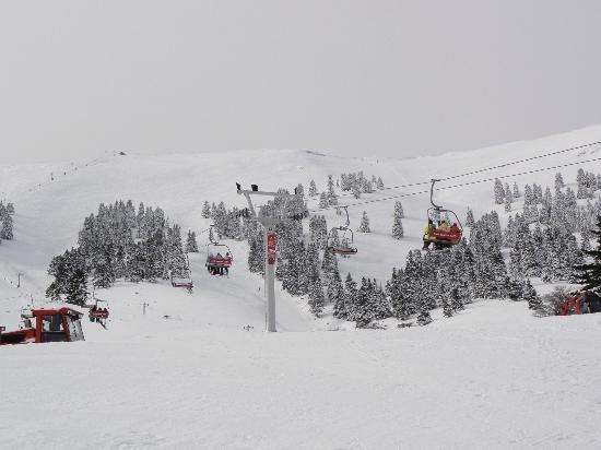 Kalavrita snow