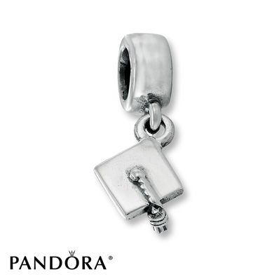 Pandora Graduation Hat Dangle Charm