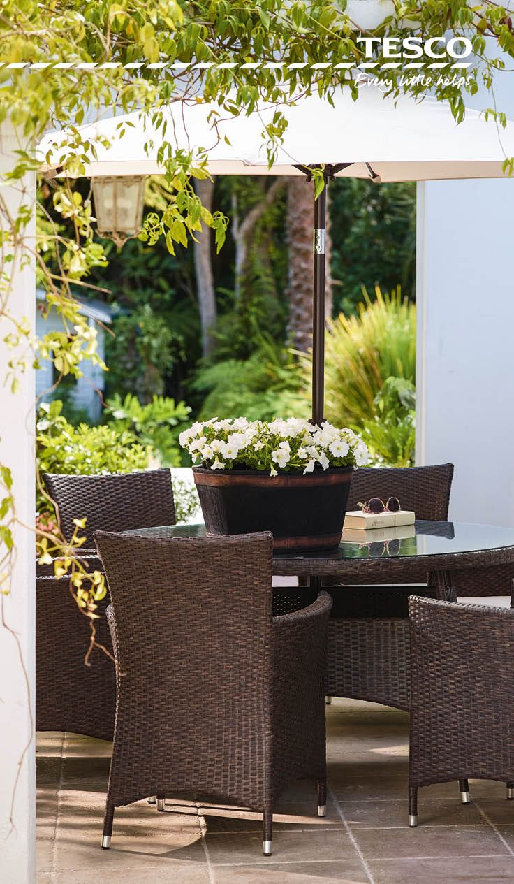 our stylish outdoor furniture and dining range means al fresco living has never been so easy
