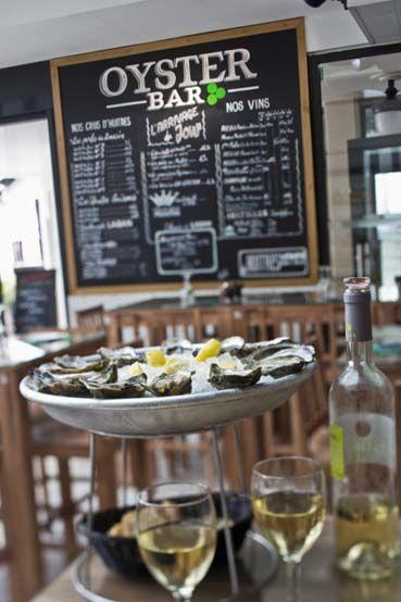 Oyster Bar - Huîtres Laban, restaurant Arcachon - les huîtres de Sandrine | Restaurants