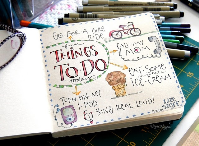 to do list: Elvis Studios, Doodle, Art Journals, Journals Pages, Journals Ideas, Fun Things, Smash Books, Journals Art, Things To Do
