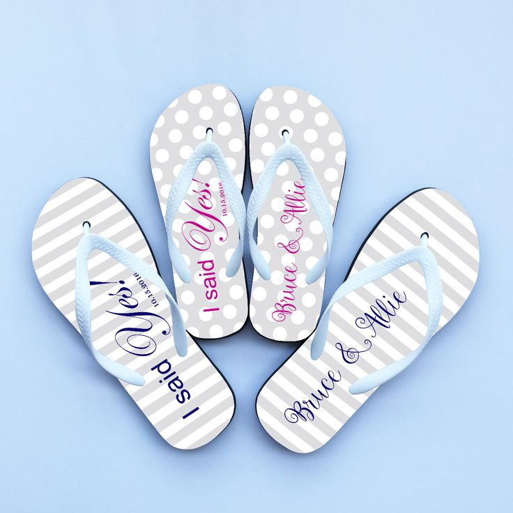 personalize flip flopsbeach wedding flip flops for guestscheap bridesmaid flip flops
