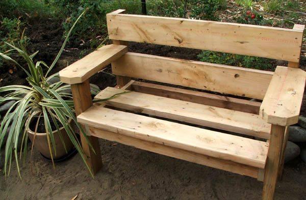 nice short homemade bench