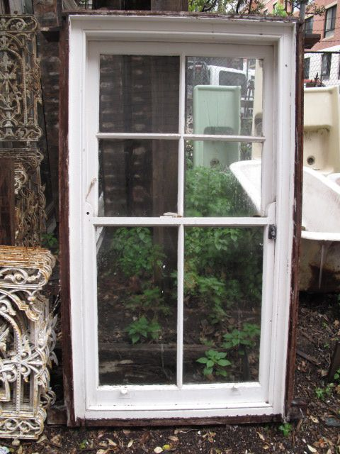 Double Hung Windows : Six Paned Victorian Sash Windows X4