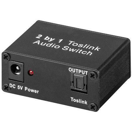 Audio schakelaar - Optisch - 2-weg