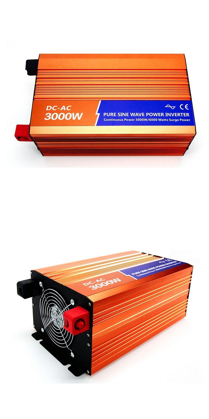 MAYLAR 3000W 48VDC 110V/120V/220V/230VAC 50Hz/60Hz Peak Power 6000W Off-grid Pure Sine Wave Solar Inverter or Wind Inverter