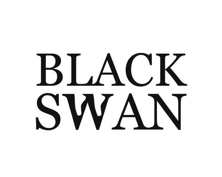 #verbicon #black swan  #film Famous Movie Titles Written Using Negative Space – Fubiz Media