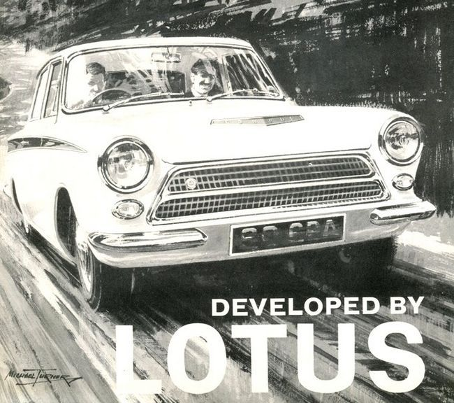 1963 Ford Cortina Sport Spéciale by Lotus