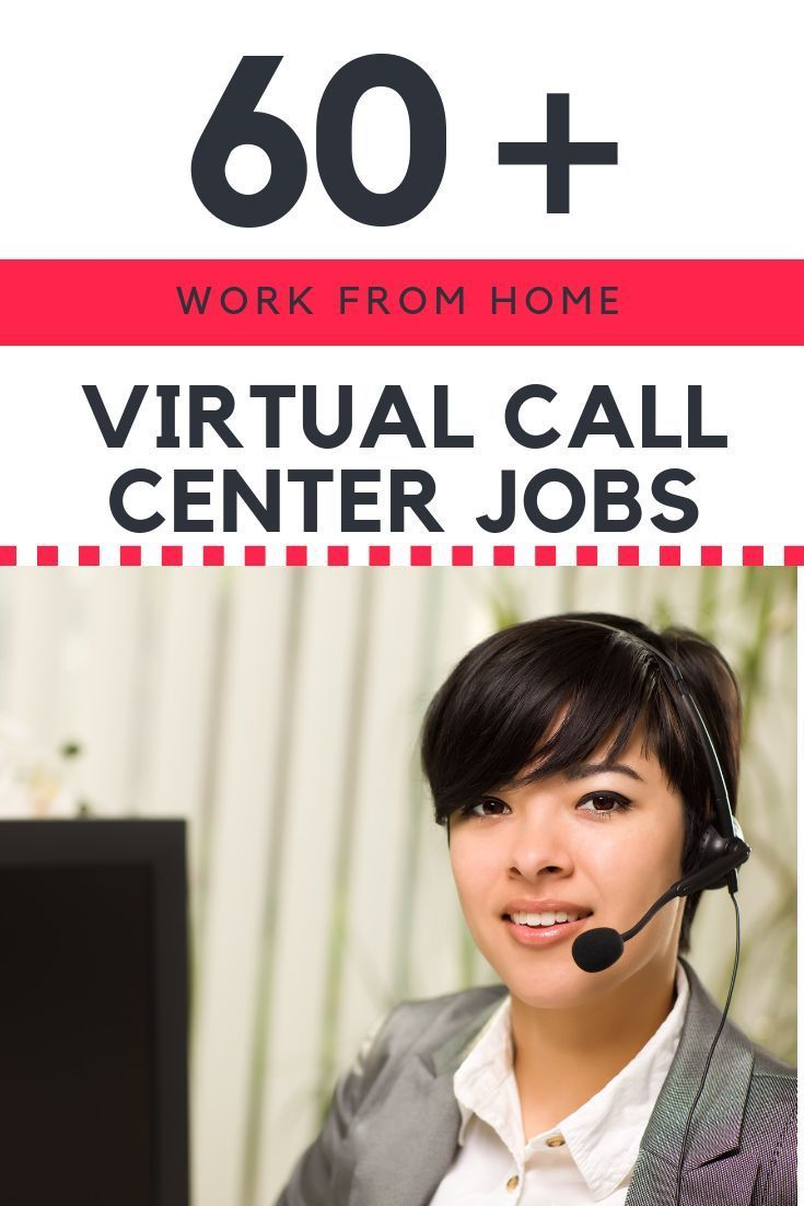 60 Work From Home Virtual Call Center Companies Work From Home
