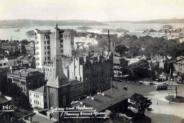 Sydney, NSW. To see all our old postcards of Australia, visit http://oldstratforduponavon.com/australia.html