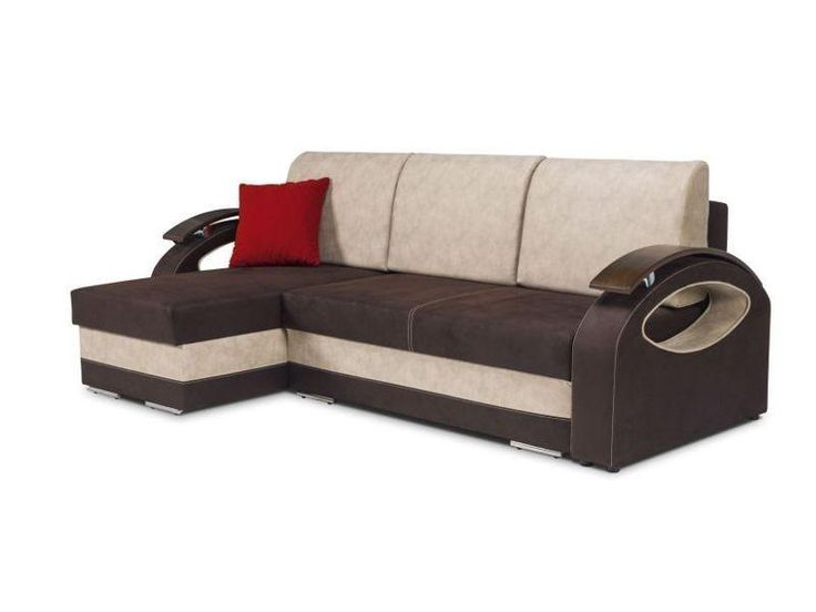 --- NOW £589 INC.VAT --- ** INSTALMENTS 12 MONTHS - 0 % ** ~~ FREE DELIVERY !! ~~ Corner Sofa Bed LIVIA-comfortable sofa bed with its own built in a container and large sleeping area when unfolded. The unfolding of this sofa bed used an up and forward bed mechanism.  Dimensions (cm): W:234 x H:90 x D:141  Sleeping Area - W:198 x D:144  THE CUSTOMER CAN CHANGE THE FABRICS OF THIS PRODUCT.  Warranty 24 months