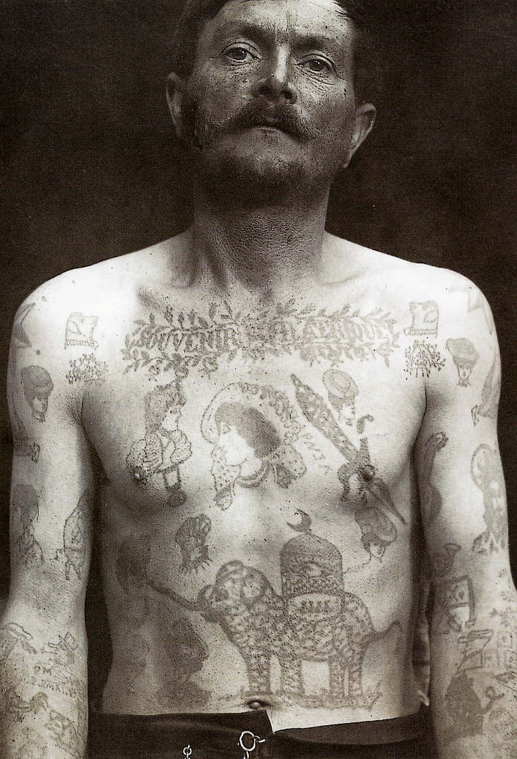 Criminal Tattoo History Amp Prison Tattoos Prison Tattoo - 732×1075