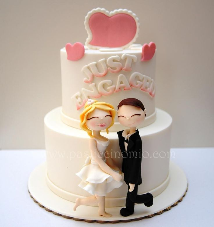 Decorating Ideas > Engagement Cake  Cakes & Cake Decorating ~ Daily  ~ 001710_Cake Design Ideas For Engagement