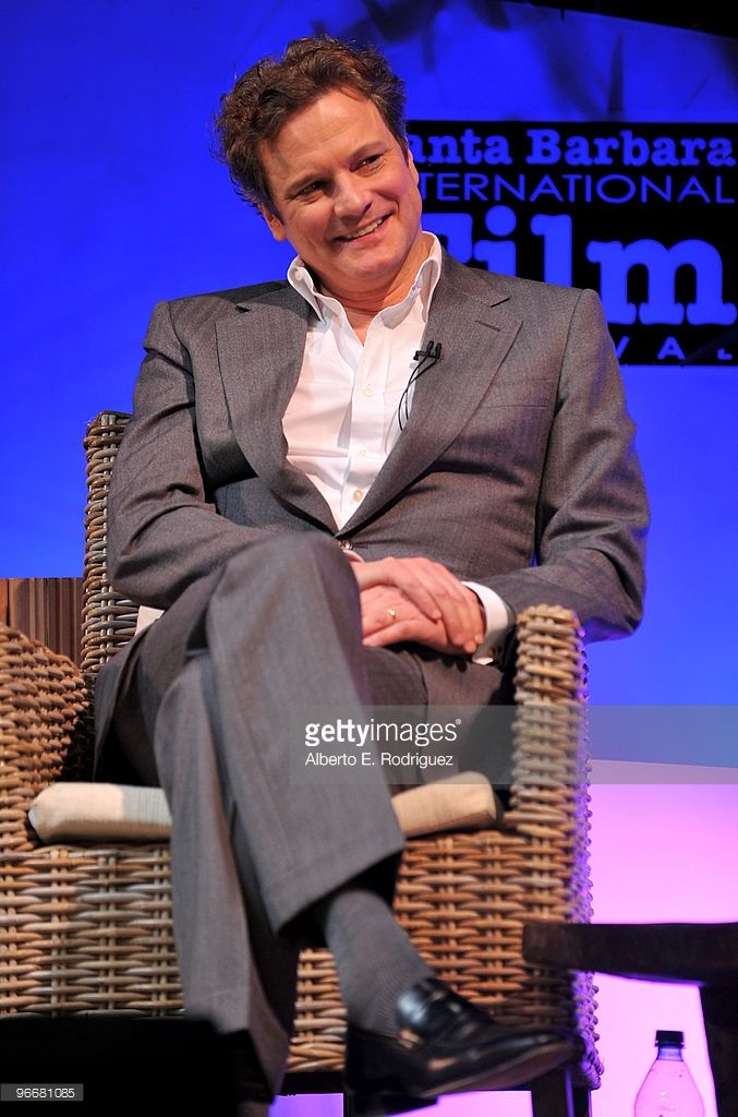 Actor Colin Firth attends the Santa Barbara International Film Festival Outstanding Performance of the Year on February 13, 2010 in Santa Barbara, California.