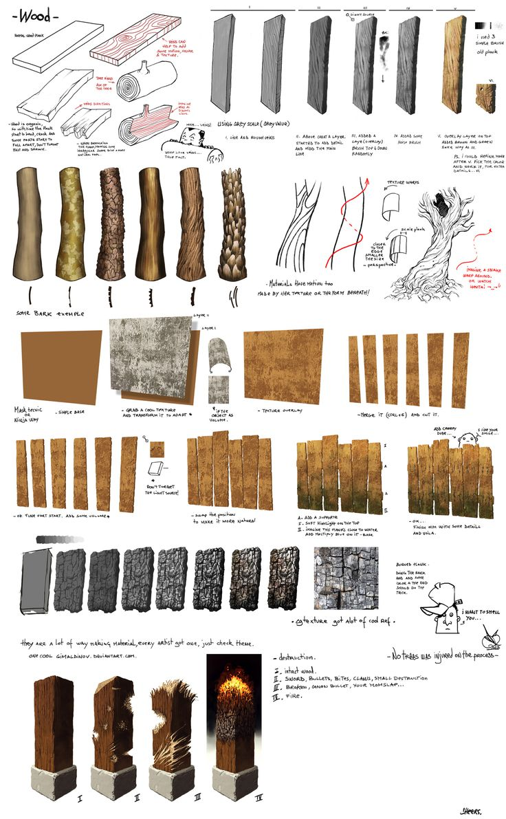 wood by DavidSequeira painting resource tool how to tutorial instructions | Create your own roleplaying game material w/ RPG Bard: www.rpgbard.com | Writing inspiration for Dungeons and Dragons DND D&D Pathfinder PFRPG Warhammer 40k Star Wars Shadowrun Call of Cthulhu Lord of the Rings LoTR + d20 fantasy science fiction scifi horror design | Not our art: click artwork for source
