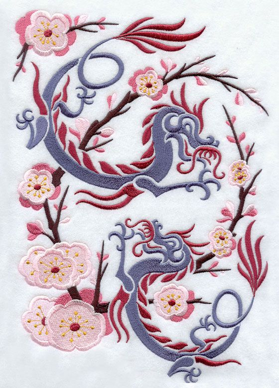 Asian Embroidery Art