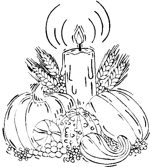 hard coloring pages for thanksgiving - photo#2