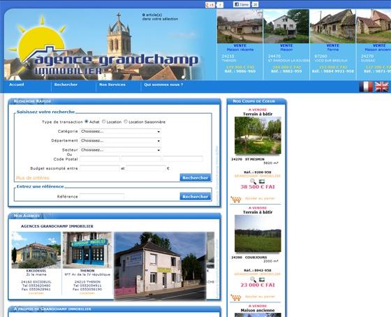 AGENCE GRANDCHAMP - http://www.perigord-immobilier.com/