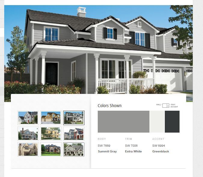 Exterior inspiration project inspiration pinterest for Exterior house color inspiration