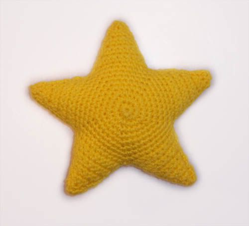 "Star Stuffie ""Twinkle Star"" *Pattern Included* - CROCHET"