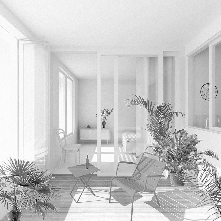 A Paris Apartment And A Paris Graphic: 1414 Best Images About ARC02. Housing On Pinterest