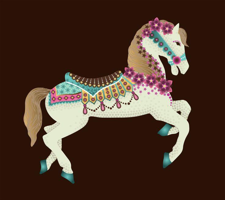 Carousel Horse ~ by Veronica Alvarez
