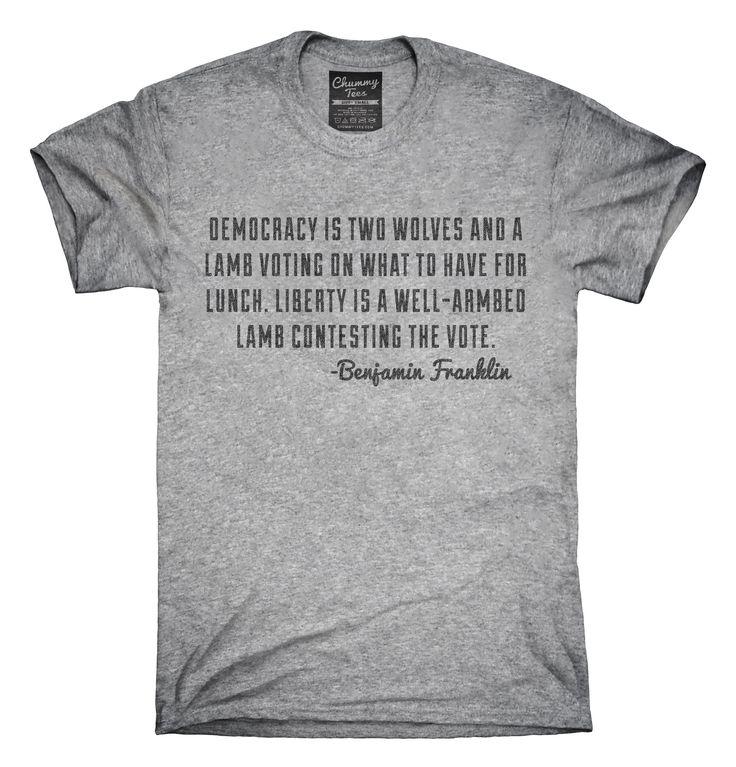 Gun Rights Benjamin Franklin Quote T-Shirts, Hoodies, Tank Tops
