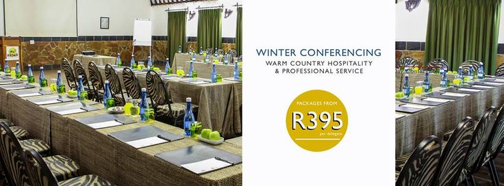 Kedar Heritage Lodge: Winter conferencing packages starting from R395 per delegate.