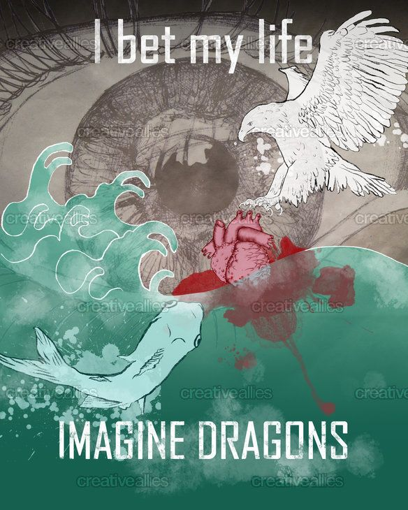 Imagine Dragons Poster by doquigi on CreativeAllies.com