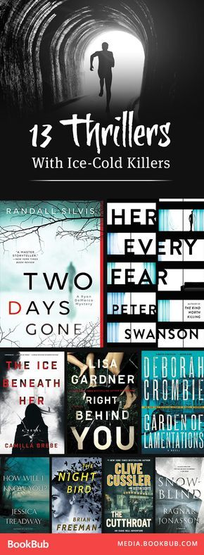 13 thriller books to read next. These ice-cold killers will give you the chills!