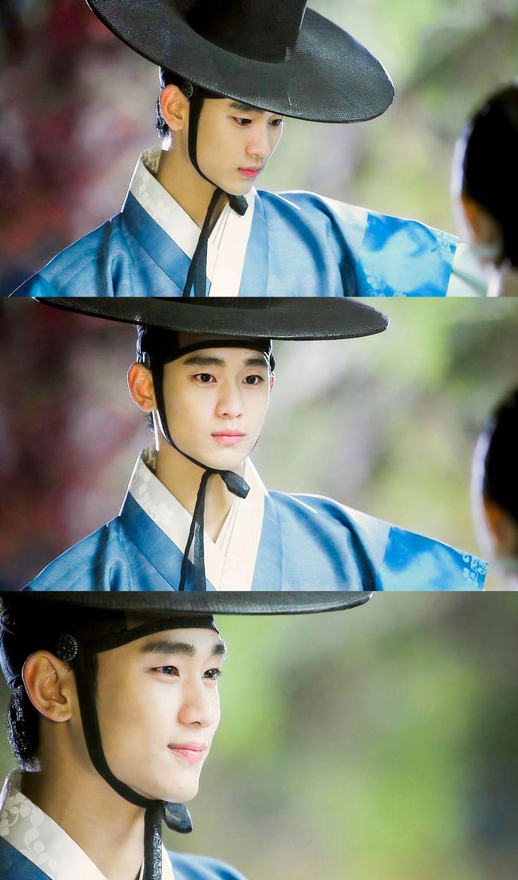 Beautiful Do Min Joon in hanbook.  Man From The Stars. Kim Soo Hyun.