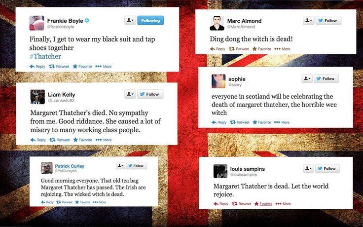 Margaret Thatchers Death: American Versus British Reactions