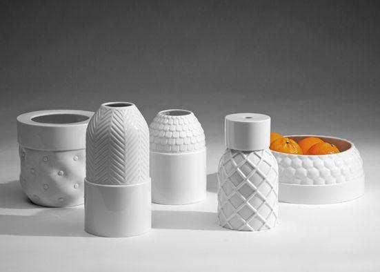 ceramic work by Parisian designer Ionna Vautrin