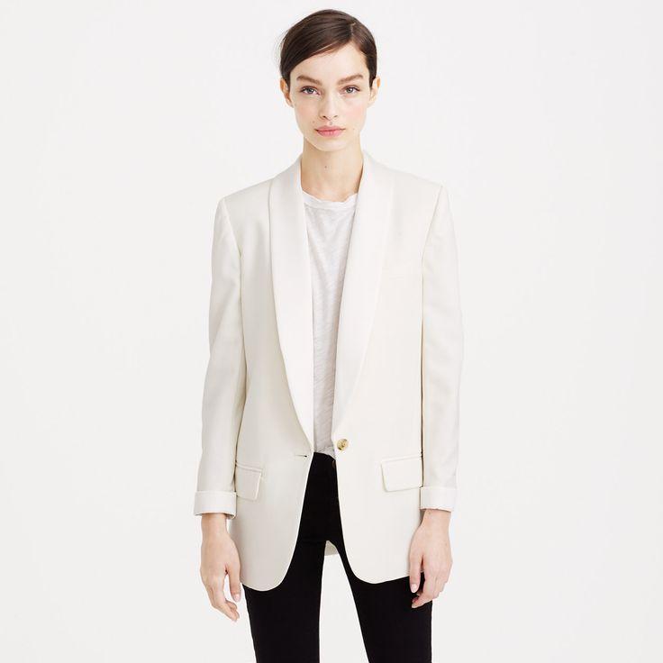 Collection shawl-collar tuxedo blazer : blazers | J.Crew
