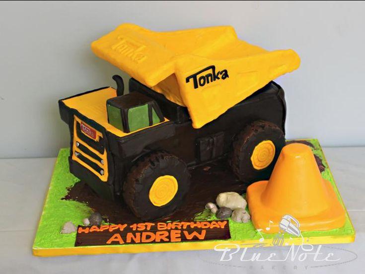 Tonka Dump truck Birthday | Blue Note Bakery - Austin, Texas