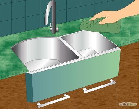 caulk the kitchen sink fregaderos y lavabos fregaderos de cocina y cocinas. Black Bedroom Furniture Sets. Home Design Ideas
