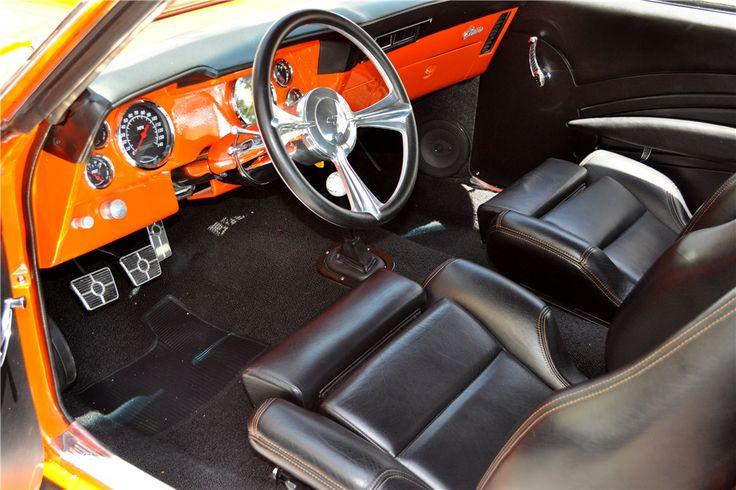 1969 CHEVROLET CAMARO RS CUSTOM COUPE - Interior - 197338